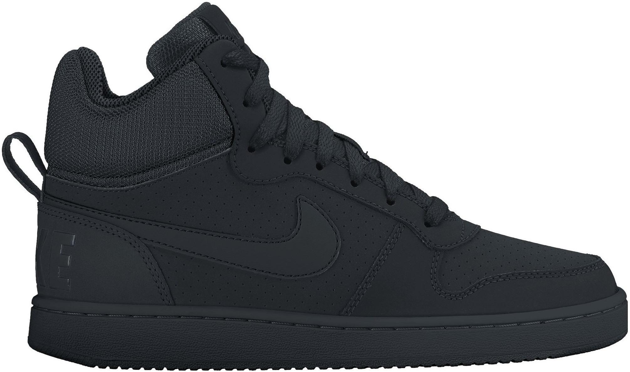 Dámské kotníkové boty Nike COURT BOROUGH MID W černé  1f1e94219e