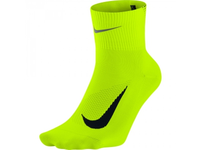 UNISEX NIKE DRY ELITE LIGHTWEIGHT QUARTER RUNNING SOCK
