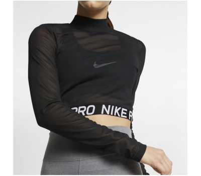 W NP ALL OVER MESH TOP LS W