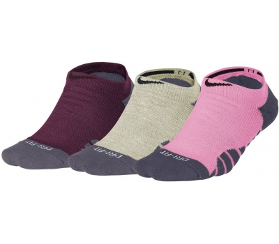 EVERYDAY MAX CUSHION NO SHOW TRAINING SOCK (3 PAIR) W