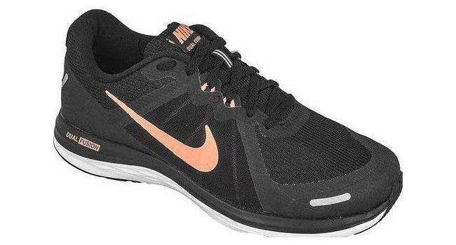 Dámské běžecké boty Nike DUAL FUSION X 2 černé  e865a9cf0e