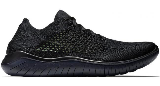 Pánské běžecké boty Nike FREE RN FLYKNIT 2018 černé  aee989a889