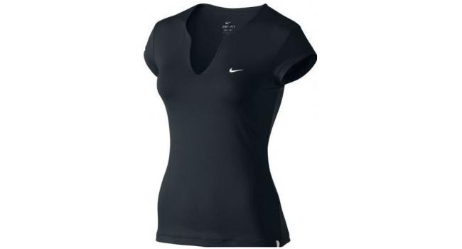 d0aec28fff9b Dámské sportovní tričko Nike PURE SHORT-SLEEVE TOP černé