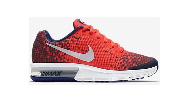 4268607ba Dětské boty Nike AIR MAX SEQUENT PRINT (GS) červené   AD Sport.cz