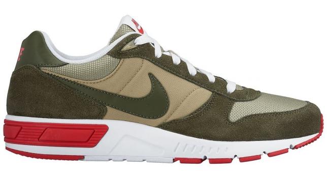 Pánské boty Nike NIGHTGAZER zelené  171b09e9f56