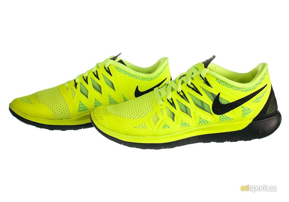 Pánské běžecké boty Nike FREE 5.0 žluté  e8fac4f285