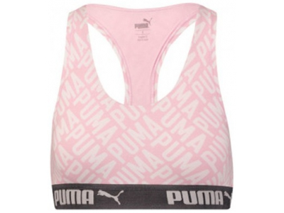 LOGO COLLAGE PRINT RACER BACK TOP 1P W