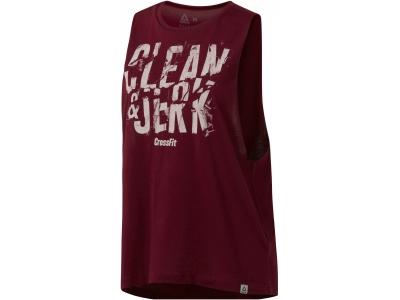CF CLEAN&JERK MUSCLE TANK W