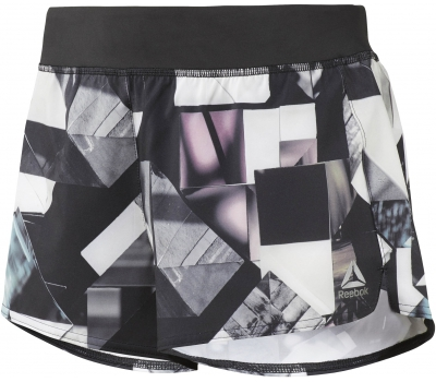 3IN WOVEN SHORT - ORIGAMI W