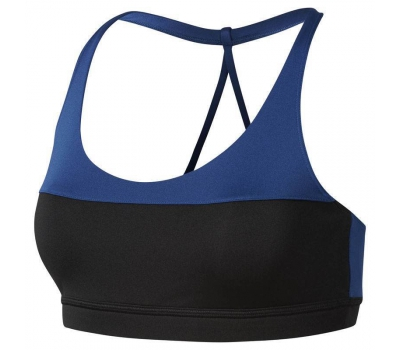 WOR TRI BACK BRA COLOR BL W