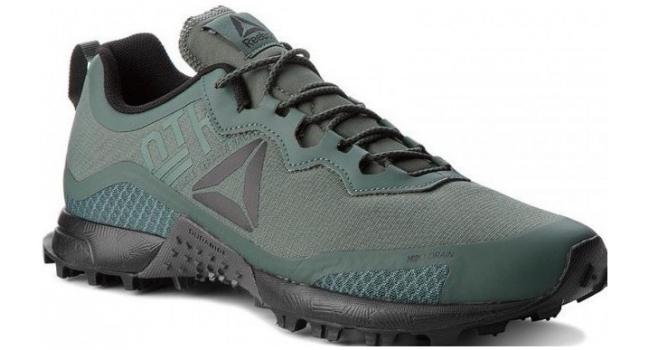 Pánské běžecké boty Reebok ALL TERRAIN CRAZE zelené  15d69846f05