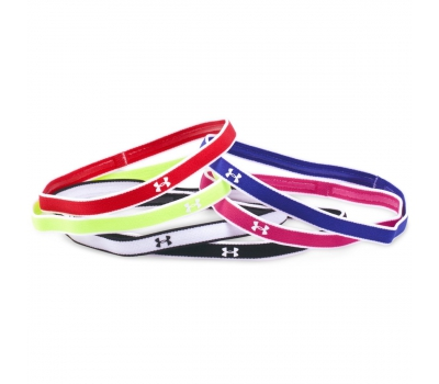 UA MINI HEADBANDS (6PK) W