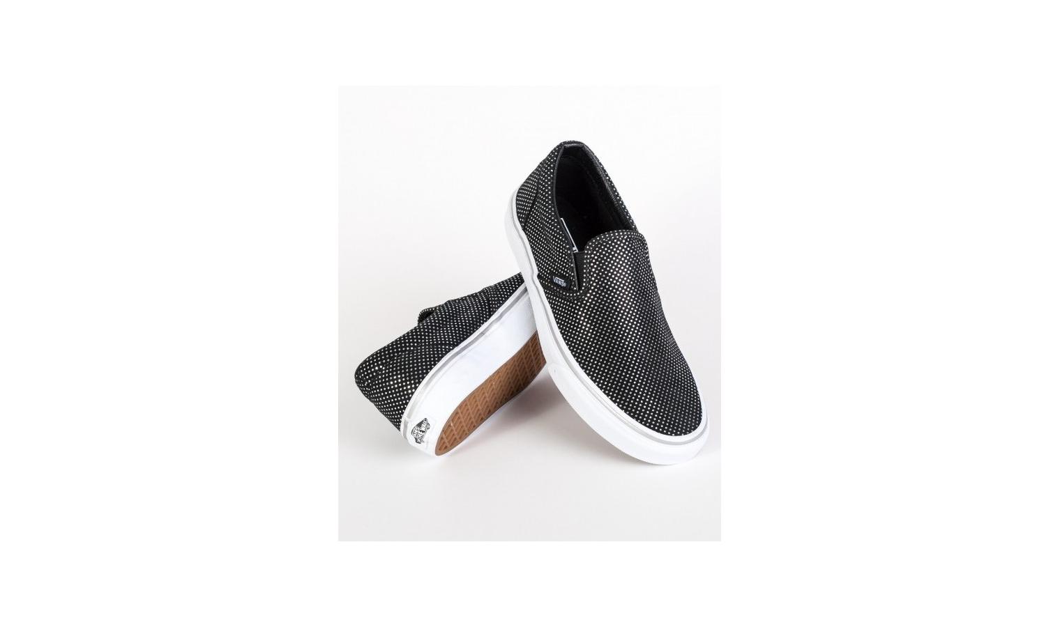 Dámské slip-on boty Vans UA CLASSIC SLIP-ON (METALLIC DOTS) černé ... 617bd395abc