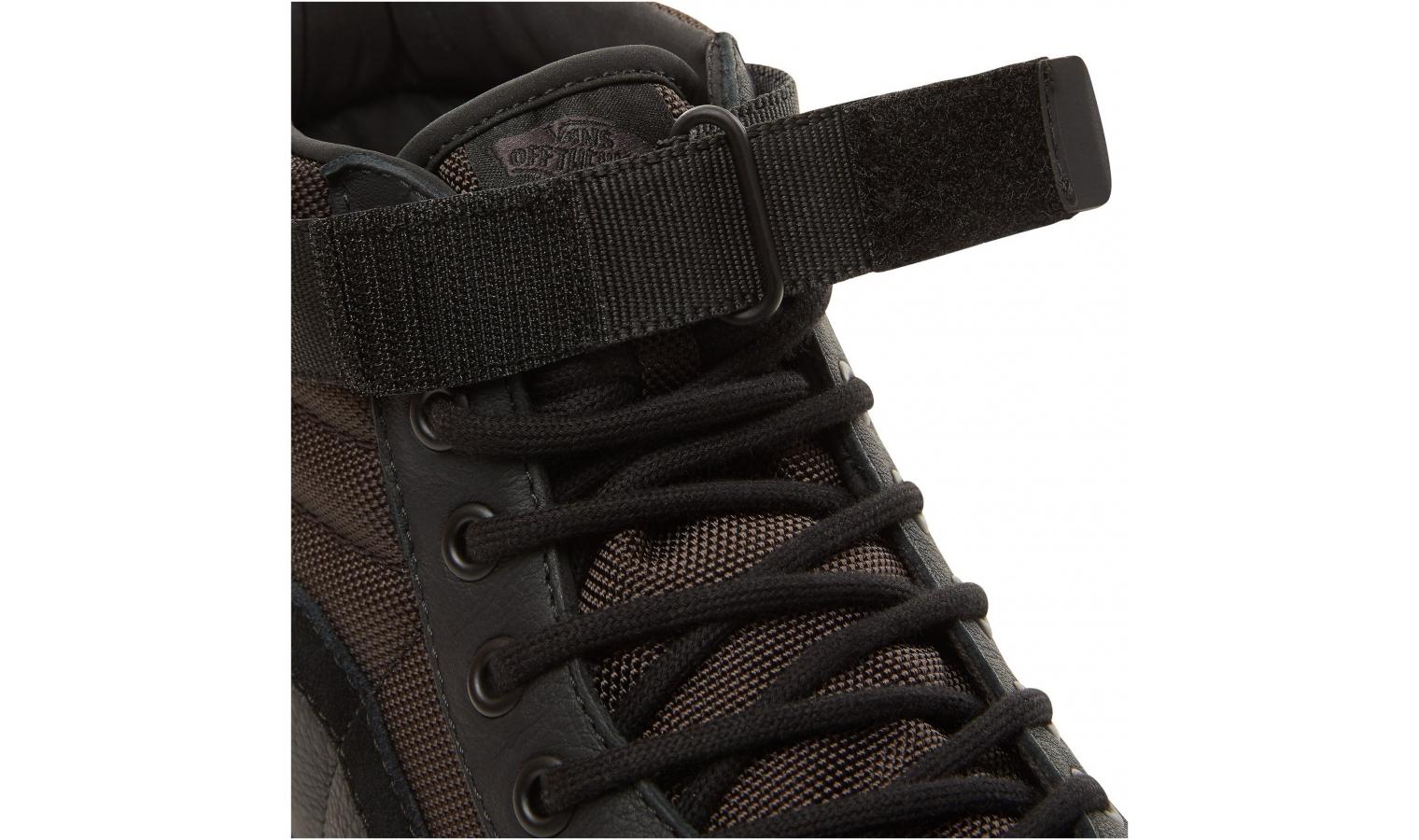 Pánské kotníkové boty Vans UA SK8-HI REISSUE ST černé  c5f14c4f7e
